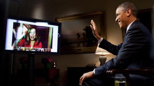 Obama-google-hangout
