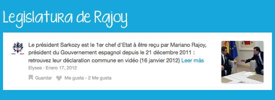 Check-in de Sarkozy en la Moncloa