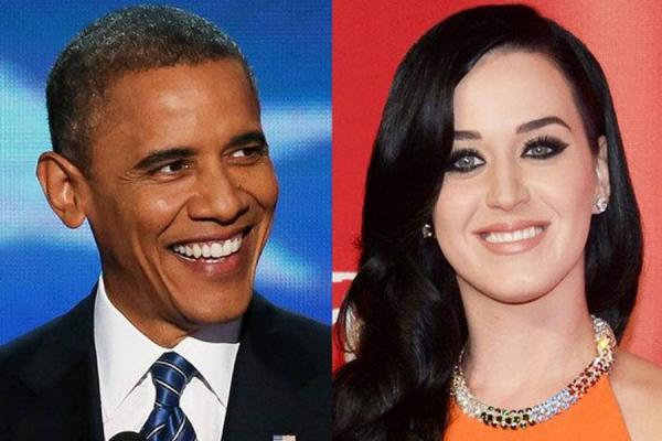 Obama y Katy Perry