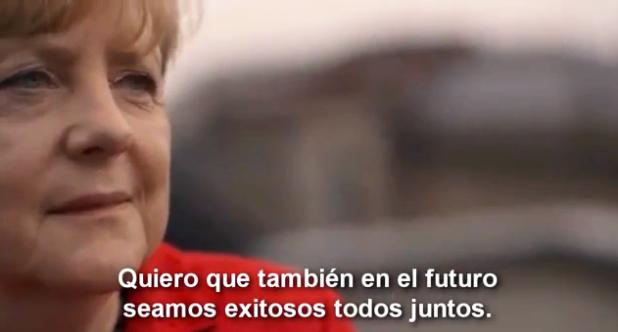 Angela Merkel Quiero