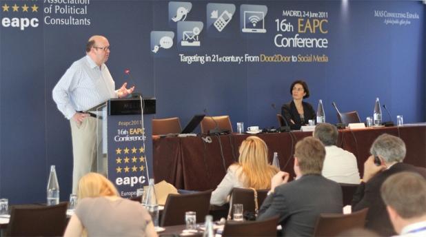 Ana Ramírez de Arellano asistió al encuentro en Madrid de la EAPC.