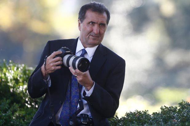 Pete Souza, el fotógrafo de la Casa Blanca. Créditos: Charles Dharapak/AP Photo
