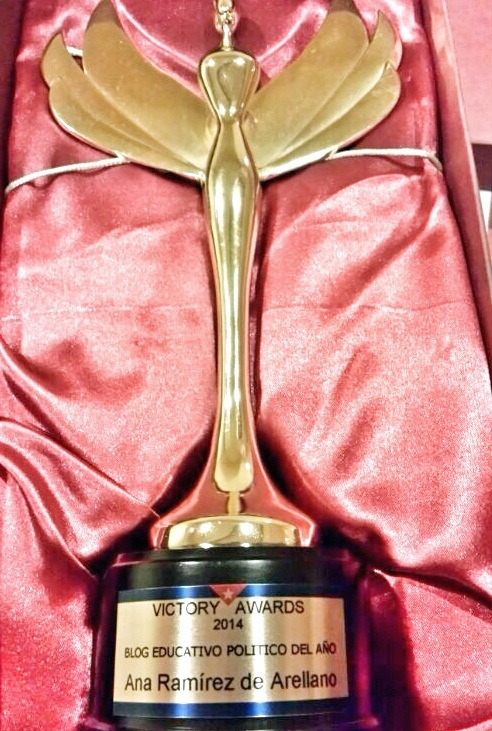 Ana Ramírez de Arellano Victory Awards 2'14