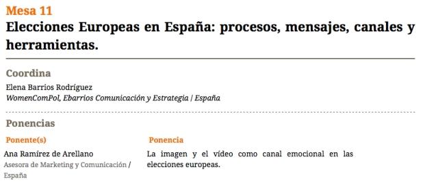 Elecciones Europeas en España: procesos, mensajes, canales y herramientas.