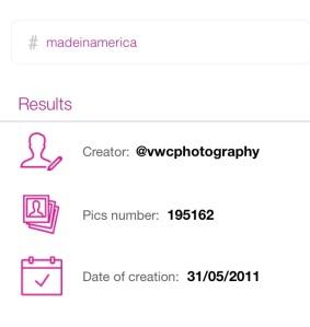 Creador del hashtag #madeinamerica