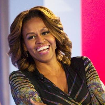 Twitter de Michelle Obama 400x400 pixeles.