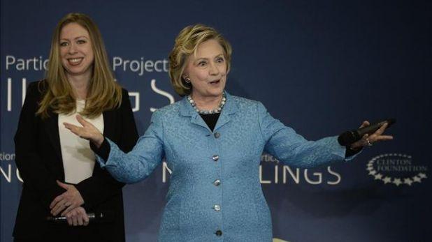 Los Clinton a lo largo de los años se han forjado una imagen de familia sólida