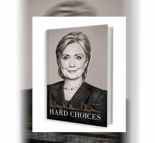 Libro de Hillary Clinton Hard Choices