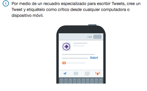 Paso 1:  Alertas de Twitter España