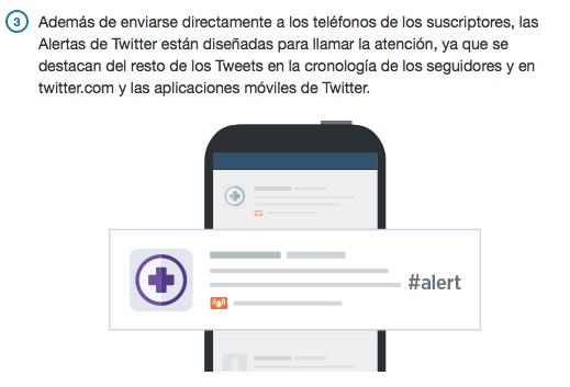 Paso 3: Alertas de Twitter España