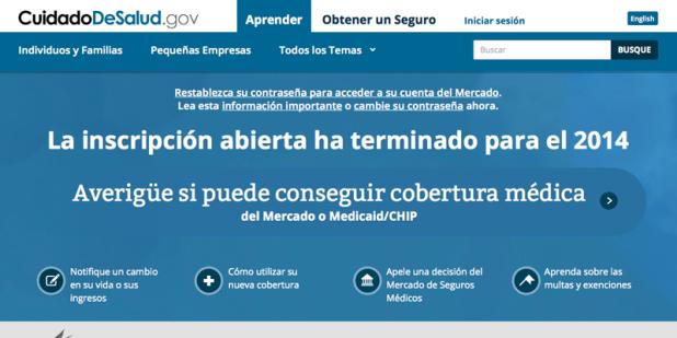Web del Cuidado de la Salud de La Casa Blanca en español