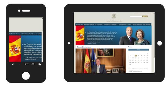 casareal.es version dispositivos moviles y tablets