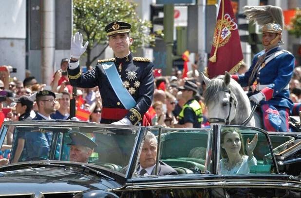 El Rey Felipe VI el día de su Proclamación 19/06/2014