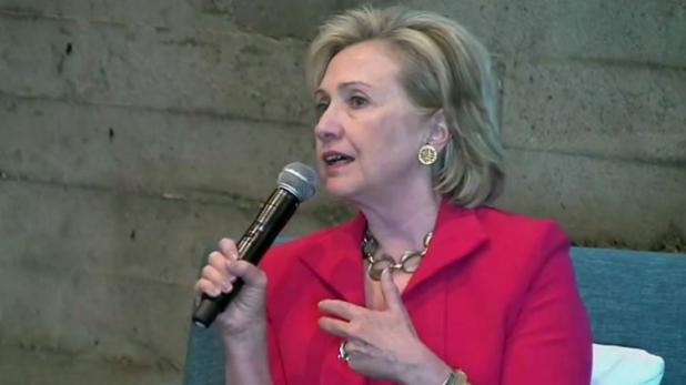 Hillary Clinton en Twitter